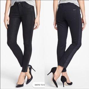 JOE'S Black Tuxedo Stripe Skinny Jeans